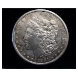 1881 S US Morgan Silver Dollar