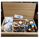 Jewelry Box full of Jewelry and more