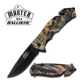 MASTER USA BALLASTIC BROWN CAMO KNIFE