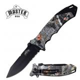 MASTER USA CAMO COATED KNIFE