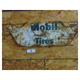 Mobile Tires Metal Sign