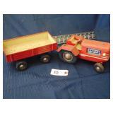 GAMA Tractor and Wagon