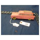 1957 Metal Masters green toy car