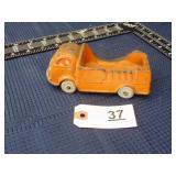 Auburn Rubber Coporation rubber toy van