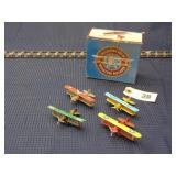 box of 1928 PT-17 Kaydet toy biplanes