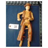 Johnny West cowboy action figure