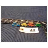 miniature metal toy train