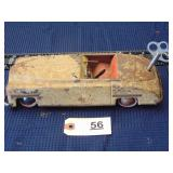 Toy wind-up car - made in US zone Germany
