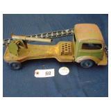 Kingsbury toy wind-up artillery truck