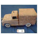 Tonka toy Civil Defense Rescue Squad vehicle