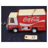 Buddy L toy Coca-Cola truck