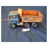 Ertl toy dump truck - automatic dump w/ piston