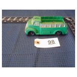 Auburn toy green fire truck