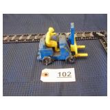 Auburn Rubber Co. toy fork lift