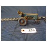 Auburn Rubber Co. toy tractor - Auburn, IN