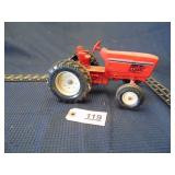 Ertl toy red tractor