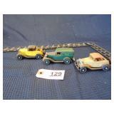 3 Ertl toy cars