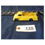Tootsie Toys yellow truck
