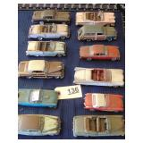 set of 12 toy cars