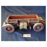 toy wood wagon