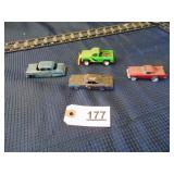 mixed lot of toy cars