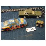 Hot Wheels NASCAR, model car, & toy monster truck