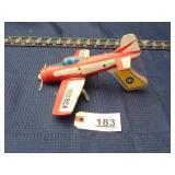 toy tin airplane gun