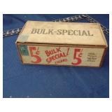 VanDam wood cigar box