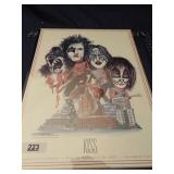 Kiss poster A Farewell to Providence