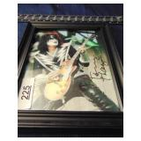 signed Kiss photo
