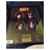 Kiss commemorative poster