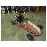 Quarter engine car