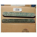 "Massey Ferguson ""Ferguson 35"" side plates"