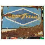 Good Year metal sign - double-sided