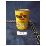Pennzoil motor oil (opened)