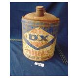 DX Sumray Oil Co. gas can