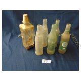 Royal Palm, Coke (12oz.), Decanter, & TAB bottles