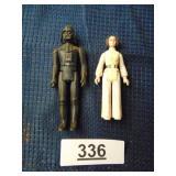 1977 Darth Vader & 1977 Princess Leia