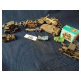 11 assorted toy cars