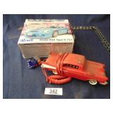 Revell Acura model car, 1957 Chevy phone, &