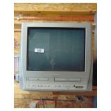 TV with DVD & VHS player