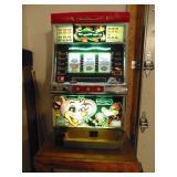 Token arcade game - lights up