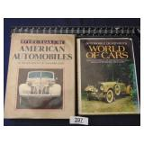World of Cars & American Automobiles - 2 books