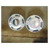 Chevy & GMC center hubcaps