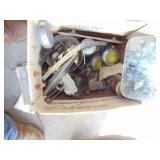 box with oldsmobile mirror, light covers,