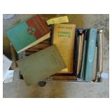 box of books - manuals