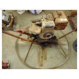 White Manufacturing Motor concrete trowler