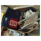 box lot - Napa car mat for mechanics