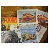 toy train catalogs & calendars