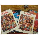 Lionel train advertising magazines